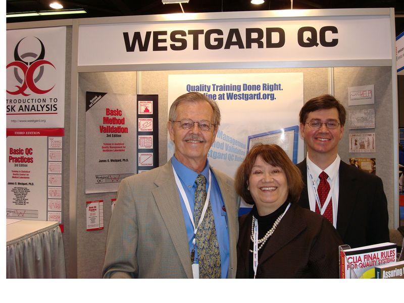 WestgardBooth2010