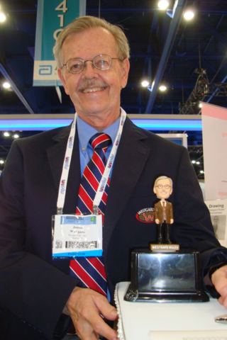 Dr. Westgard and his Bobblehead