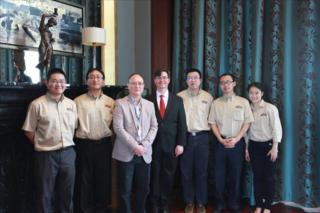 QuaLab Staff, Dr. Richard Pang, and Sten Westgard