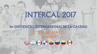 Portada INTERCAL 2017
